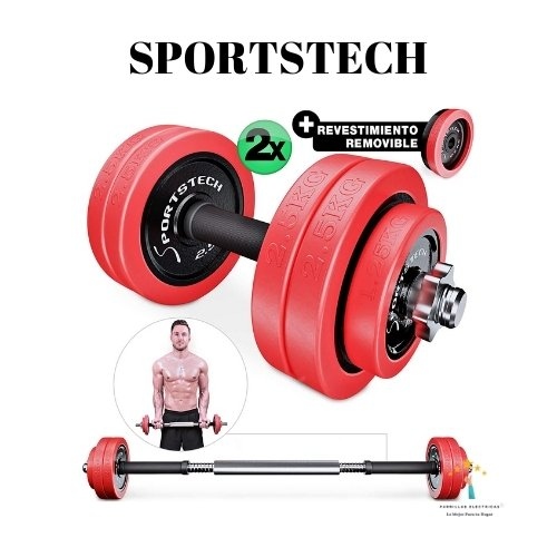 mancuerna ajustable sportstech