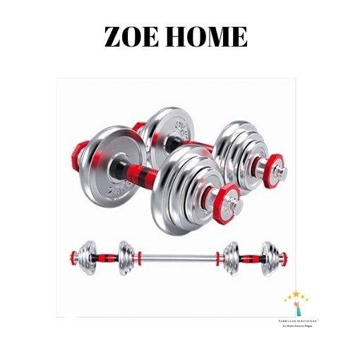 2. Zoe Home mancuernas ajustables económicas