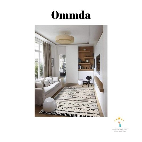 2. Alfombra lavable lavadora Ommda