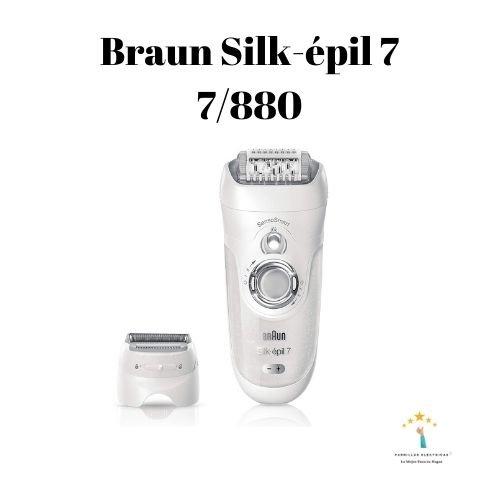 3. Braun Silk-épil 7 7-561 - depiladora Braun mujer