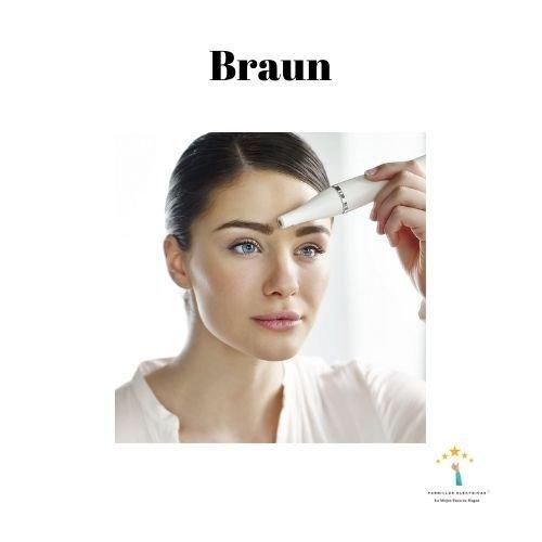 mejor depiladora facial Braun
