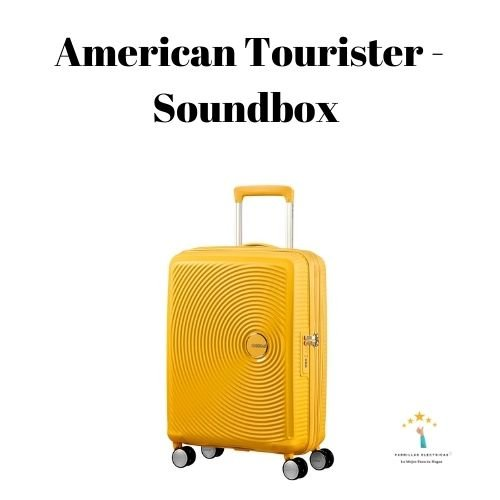 mejor maleta de viaje American Tourister - Soundbox