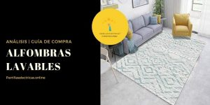 mejores alfombras lavables