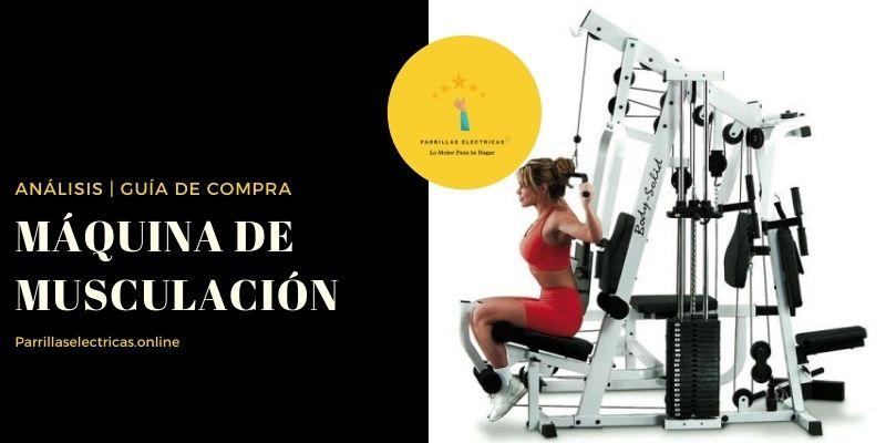mejores maquinas de musculacion