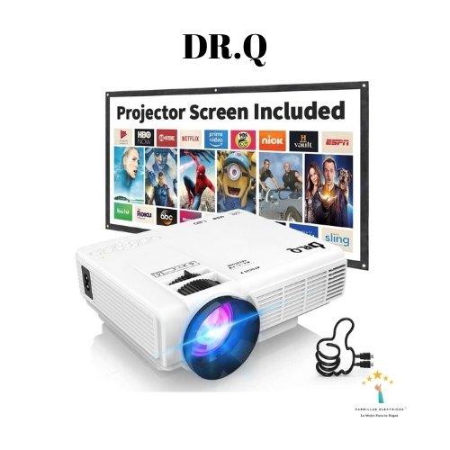 2. DR.Q mini proyector economico