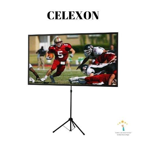 3. Celexon - La tela para proyectar imagen portátil con trípode