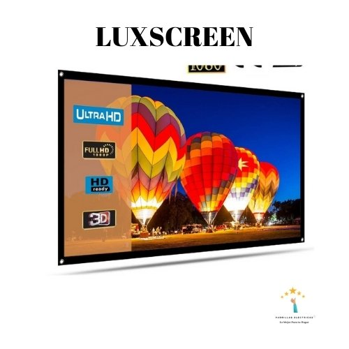 pantalla proyector luxscreen