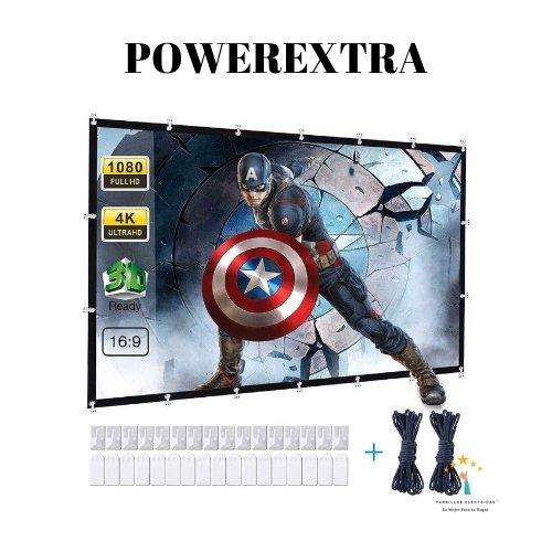 4. Powerextra - La pantalla de proyección que más se ha vendido este año