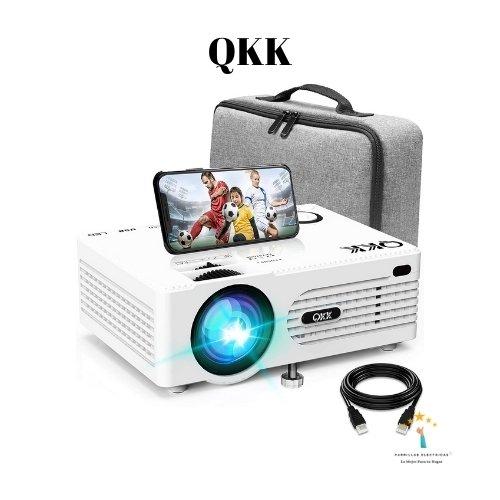 4.  Mini proyector para movil Modelo AK-80 de la marca QKK
