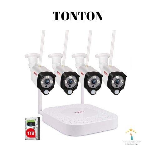 3. Sistema de cámaras de seguridad inalámbricas Tonton Security