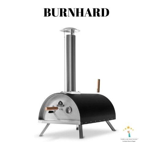 barbacoa con horno burnhard