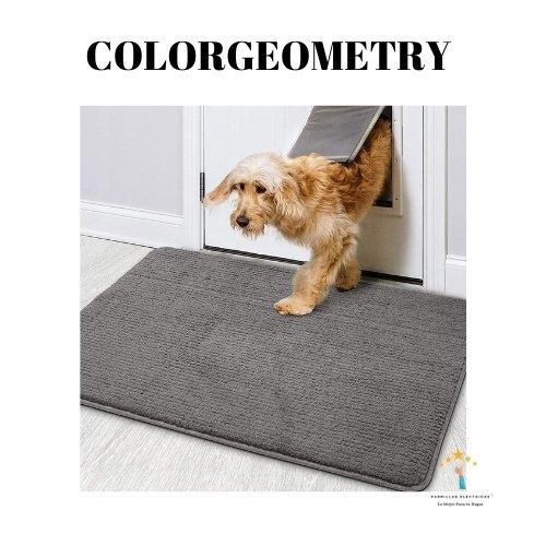 2. Alfombra Color&Geometry - felpudos para puertas
