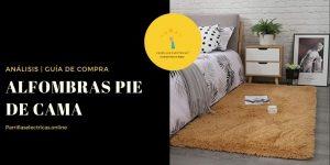 mejores alfombras pie de cama